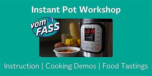 Instant Pot 101 Workshop