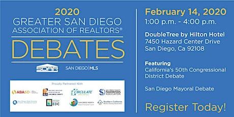 Greater San Diego Association of Realtors Presents  2020 DEBATES tickets
