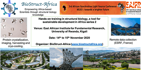 BioStruct-Africa hands-on training in structural biology series 2 tickets