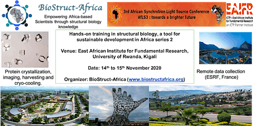 BioStruct-Africa hands-on training in structural biology series 2