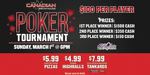 Saskatoon Stonebridge  Poker Tournament!