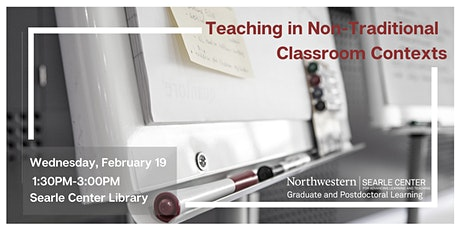 Teaching in Non-Traditional Classroom Contexts tickets