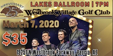 Frankie Valli & The Four Seasons Tribute at Westbrook Village Golf Club tickets
