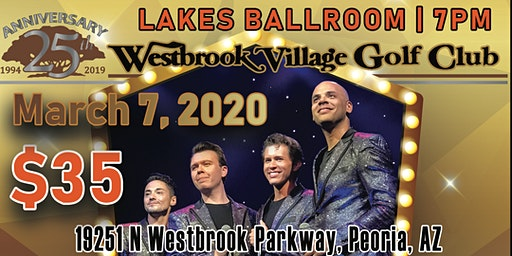 Frankie Valli & The Four Seasons Tribute at WBVGC