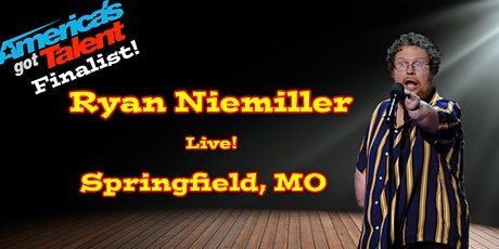 America's Got Talent Finalist Ryan Niemiller Live in Springfield, MO tickets