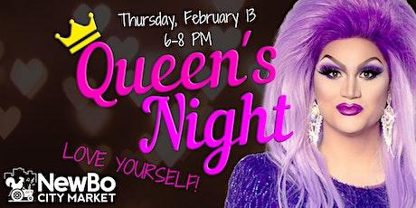Queen's Night at NewBo City Market tickets