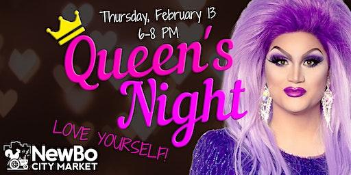 Queen's Night at NewBo City Market