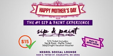 Mother's Day: Sip & Paint tickets