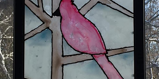 Cardinal Faux Stained Glass Class