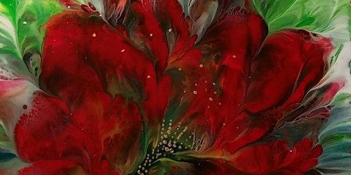 Acrylic Pouring Florals Workshop