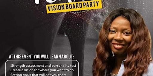 Heels &Pearls Vision Board Party