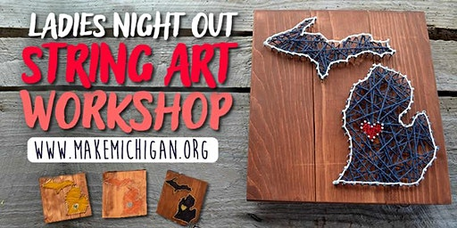 Ladies Night Out String Art Workshop