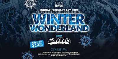 Winter Wonderland Feb 16th at the Coliseum in Westchester!