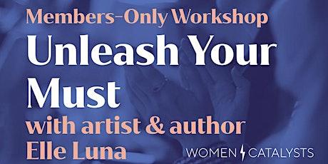 Creative Workshop with Elle Luna tickets
