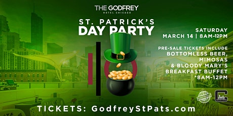 St. Patrick's Day Party at The Godfrey Hotel Chicago tickets