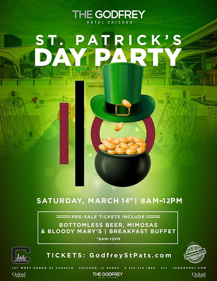 St. Patrick's Day Party at The Godfrey Hotel Chicago image