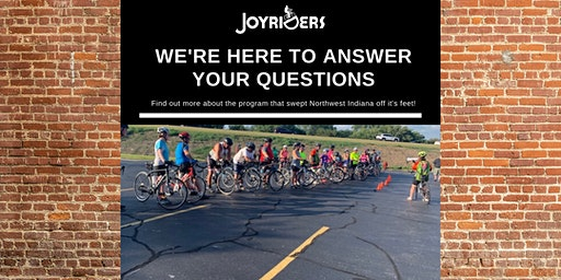 Spring JoyRiders Info Session