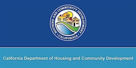 Ukiah CA State CDBG 2020 NOFA Workshop tickets