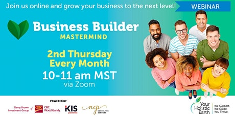 YHE Monthly Business Builder Mastermind Program by NCP **Offered to Paid YHE Members Only** tickets