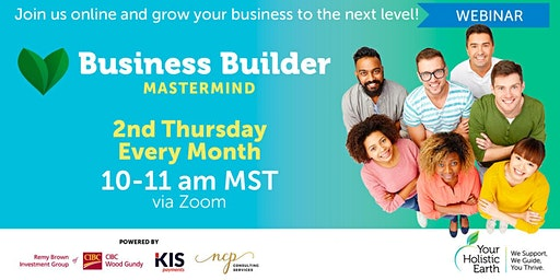 YHE Monthly Business Builder Mastermind Program by NCP **Offered to Paid YHE Members Only**