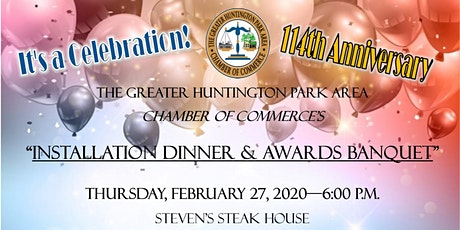 Installation Dinner and Awards Banquet tickets