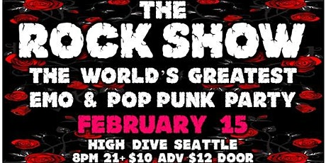 The World's Greatest Emo and Pop Punk Experience tickets
