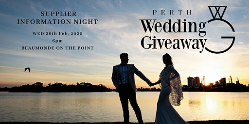 Perth Wedding Giveaway PWG4 Information Night
