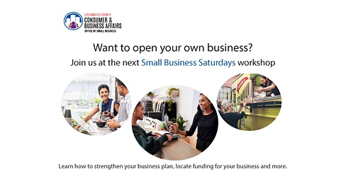Small Business Saturday Workshop