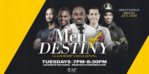 Men of Destiny Leadership and Learning