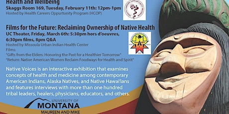 Films for the Future: Reclaiming Ownership of Native Health tickets
