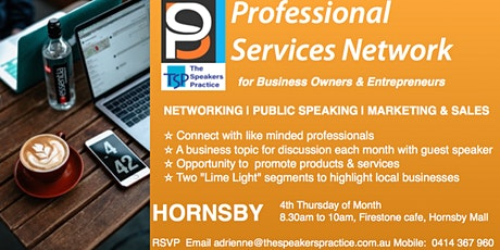 Professional Services Network - Hornsby tickets