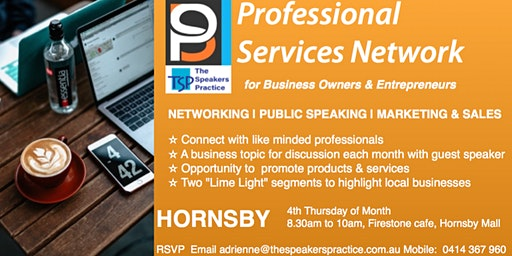 Professional Services Network - Hornsby