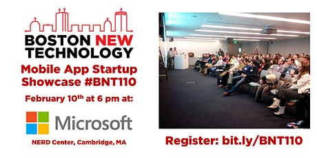 Boston New Technology Mobile App Startup Showcase #BNT110 tickets