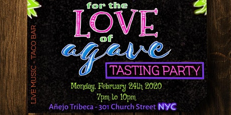 For the Love of Agave Tasting Party! - Winter Edition tickets