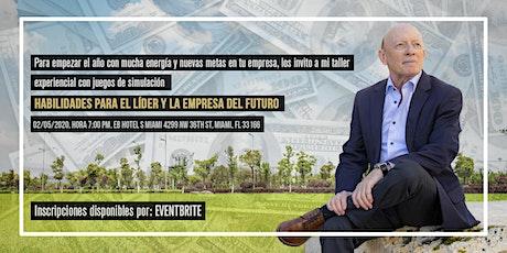 HABILIDADES PARA EL LIDER Y LA EMPRESA DEL FUTURO tickets