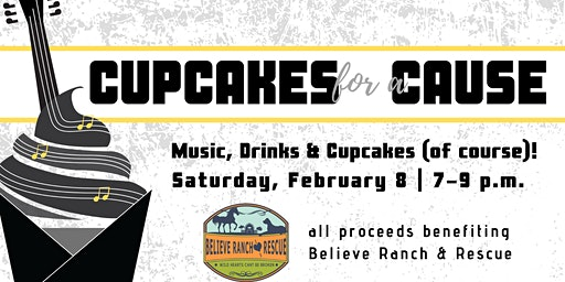 Cupcakes for a Cause  (ages 21+ please)