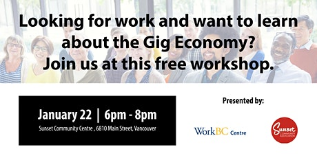 The Gig Economy: A Free Career Workshop tickets
