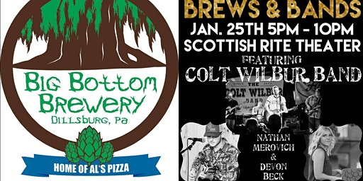 Big Bottom Brewery Presents: Brews & Bands