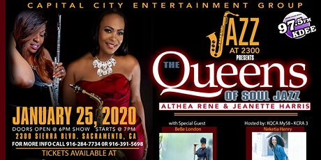 Jazz  at 2300 Presents, The Queens of Soul Jazz tickets
