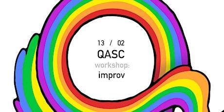 QASC Workshop: Improv 2 tickets