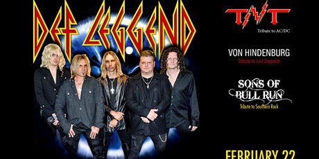 DEF LEGGEND - TRIBUTE TO DEF LEPPARD / TNT - TRIBUTE TO AC/DC tickets