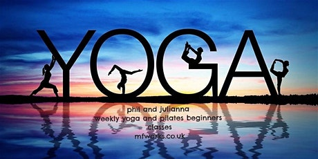 yoga & pilates  beginners classes payg open classes tickets