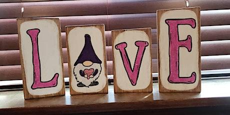 Valentine's Gnome Craft & Sip tickets