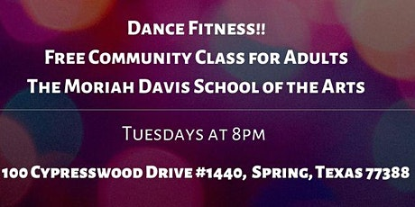 Dance Fitness - Free Community Class: Tuesdays tickets