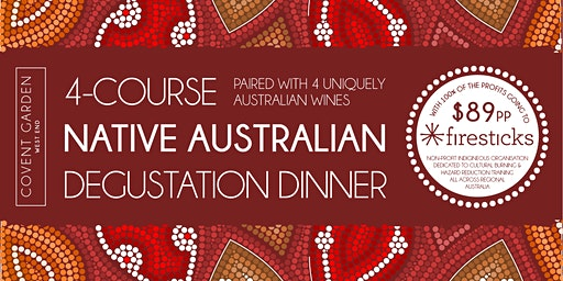 4-Course Native Australian Food & Wine Degustation