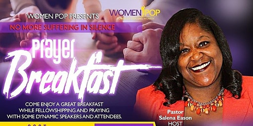 No More Suffering In Silence Prayer Breakfast