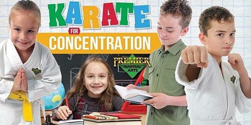 Karate for Concentration (Ages 5-12)