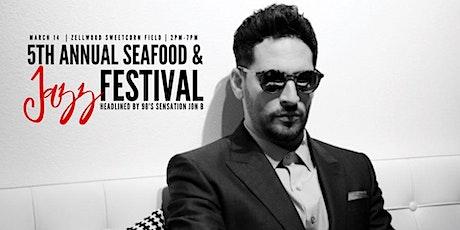 Jon B 5th Annual Seafood & Jazz Festival tickets