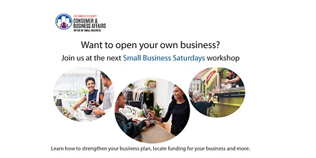 Leland R Weaver Library Small Business Saturday Workshop tickets