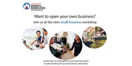 San Gabriel Library Small Business Workshop tickets